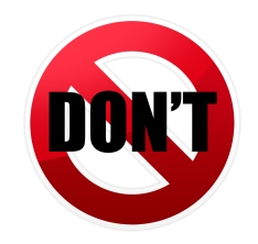 do-not-symbol